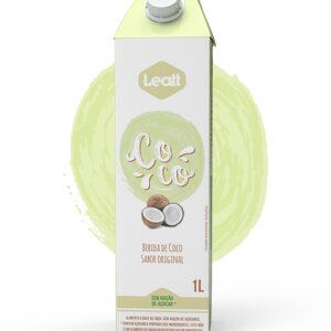 leite vegetal de coco